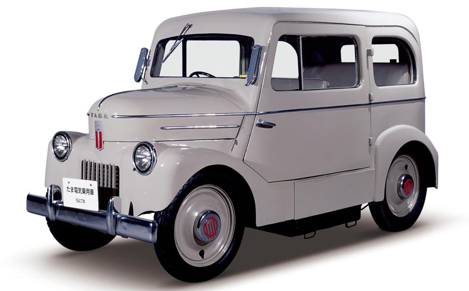 Dieser charmante Kleinwagen ist das erste Elektrofahrzeug von Nissan – Jahrgang 1947!