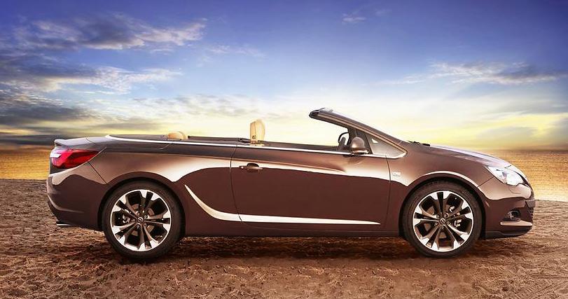 Das neue Cabriolet Opel Cascade positioniert sich mit 4,70 m Länge in der gehobenen Mittelklasse.