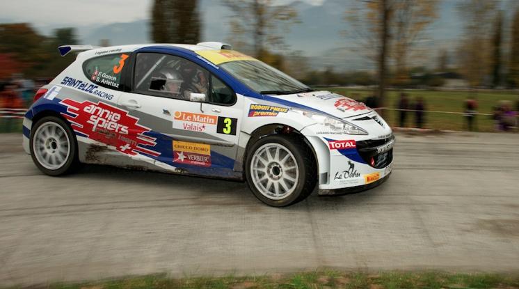 Florian Gonon (Peugeot) führte während der zwei ersten Tagen, verlor aber als Schneepflug am dritten Tag viel Zeit und wurde Zweiter.