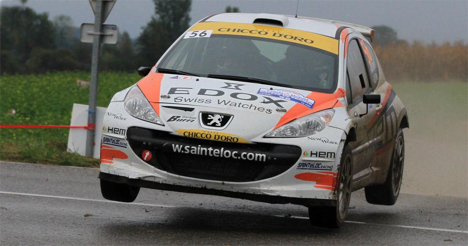 Michaël Burri hat 2012 bei diversen WM-Läufen internationale Erfahrung gesammelt. Jetzt strebt er im Peugeot S2000 den Prestigesieg bei der Rallye du Valais an.