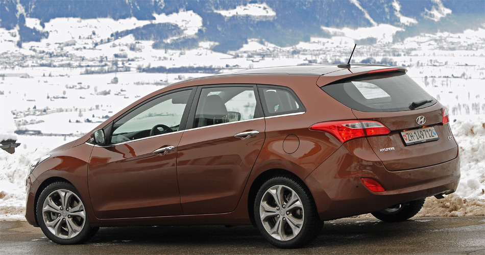 Der neue Hyundai i30 Wagon macht aus jeder Perspektive eine gute Figur.