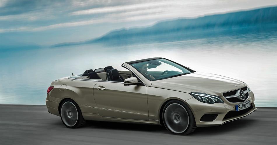 Das elegante E-Klasse Cabrio profitiert von zahlreichen Verbesserungen.