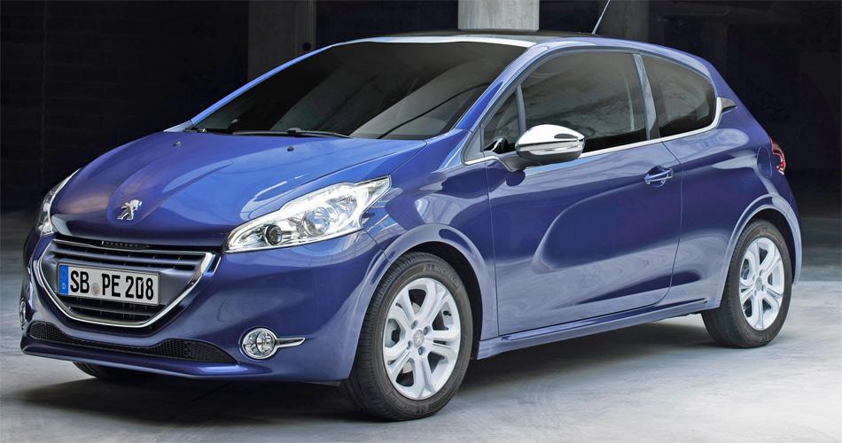 Mit dem 3-Zylinder ist das Einstiegsmodell des Peugeot 208 119 Kilo leichter als der vergleichbare Vorgänger 207.