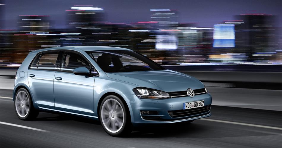 Der neue VW Golf passt mit seinem coolen, pragmatischen Design gut in ein modernes, urbanes Umfeld.