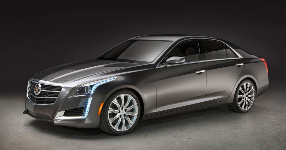 Der neue Cadillac CTS behält dank seinem charakteristischen Design seine unverkennbare Individualität.