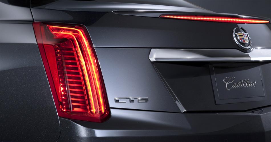 Das kantige Design verspricht Sportlichkeit, die der Cadillac CTS durchaus halten kann.