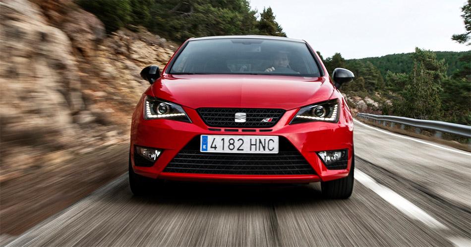 Agilität und Fahrspass im kurvigen Geläuf sind  Stärken des Seat Ibiza Cupra.