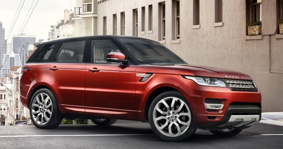 Der Rang Rover Sport wirkt mit seinen Proportionen nochmals deutlich dynamischer als der klassische Range Rover.