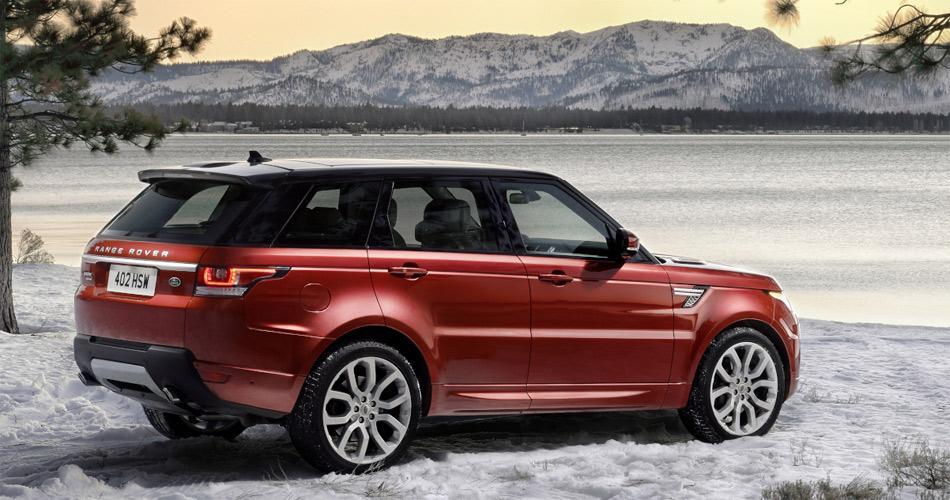 Auch der Range Rover Sport profitiert von konsequentem Leichtbau und bringt 400 kg weniger als sein Vorgänger auf die Waage.