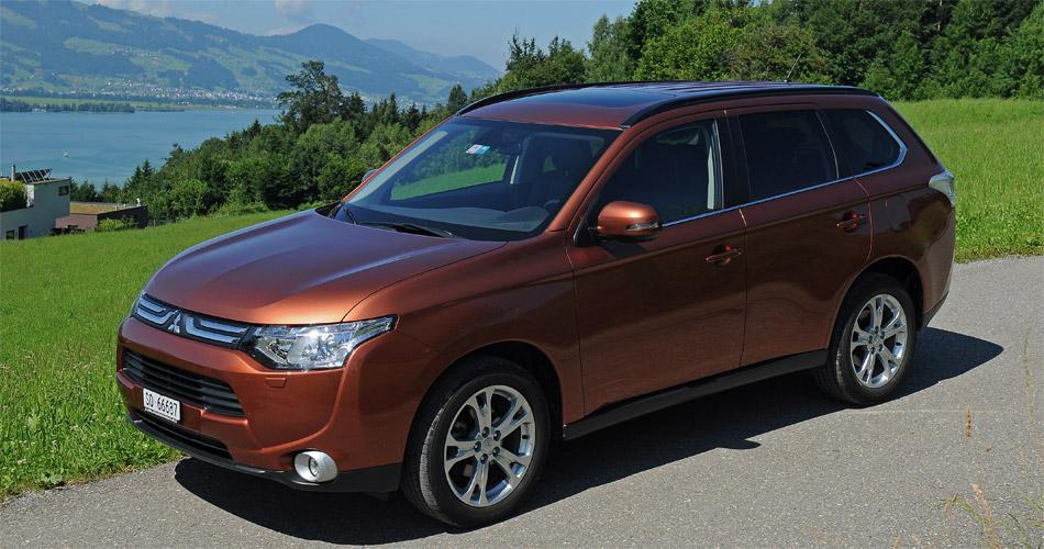 Die neue Designsprache des Mitsubishi Outlander soll Umweltfreundlichkeit signalisieren.