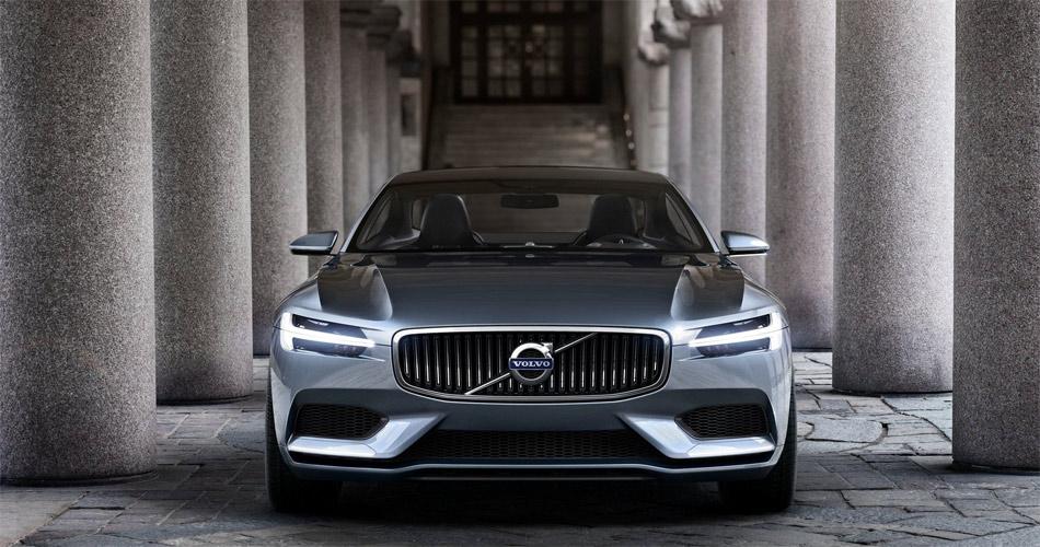 Die an den legendären P1800 anlehende Designstudie soll die neue Volvo-Designsprache verkörpern.