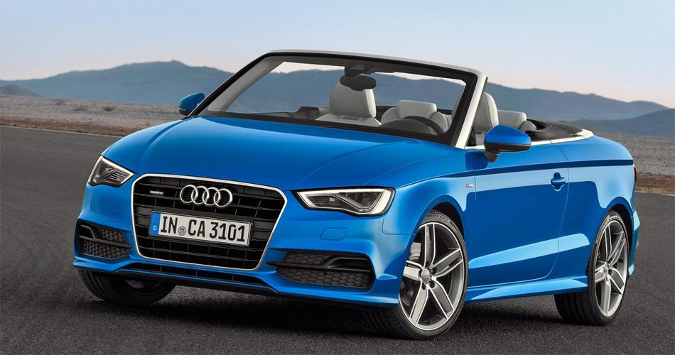 Der neue Audi A3 Cabrio startet mit drei Motoren, später folgt auch die noch kräftigere S3-Version.