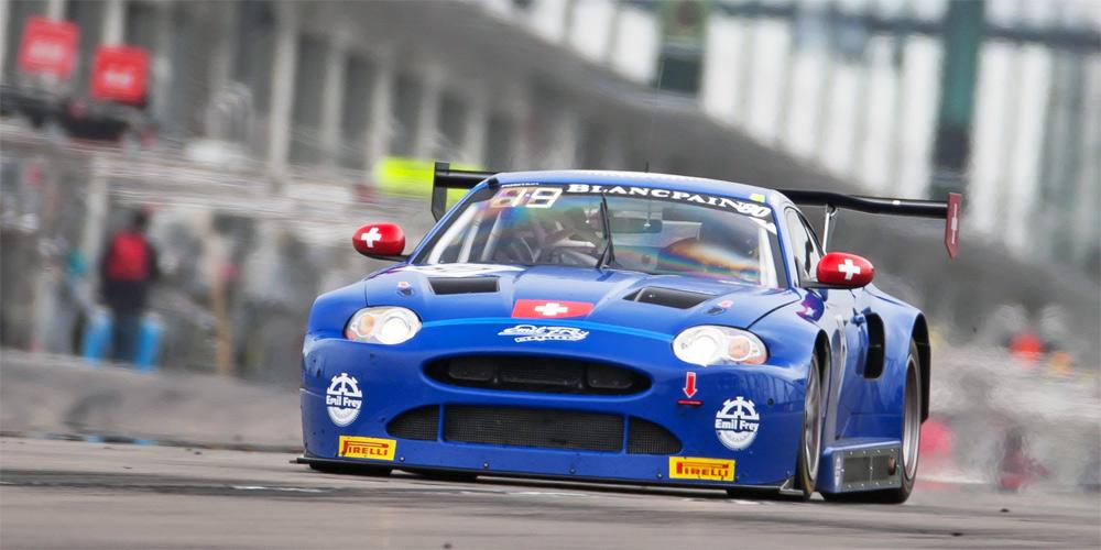 Beim Debüt mit dem überarbeiteten Emil Frey GT3 Jaguar gab es keinerlei mechanische Probleme.