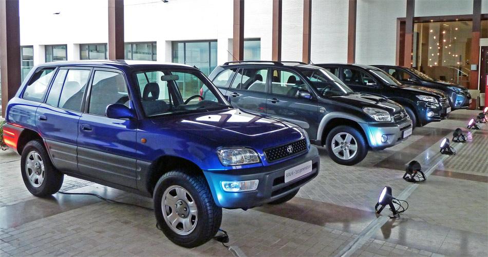 Die erste RAV4-Generation erfreute sich auch als Zweitürer grosser Beliebtheit.