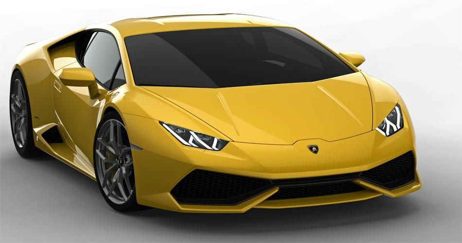 Auch der neue Huracan übernimmt die bekannten Designelemente von Lamborghini, wirkt insgesamt aber harmonischer und weniger extrovertiert als der Gallardo.