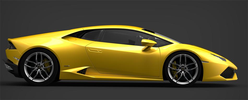 Nach Art des Hauses verfügt auch der Lamborghini Huracan über einen heckbetonten, permanenten Allradantrieb.