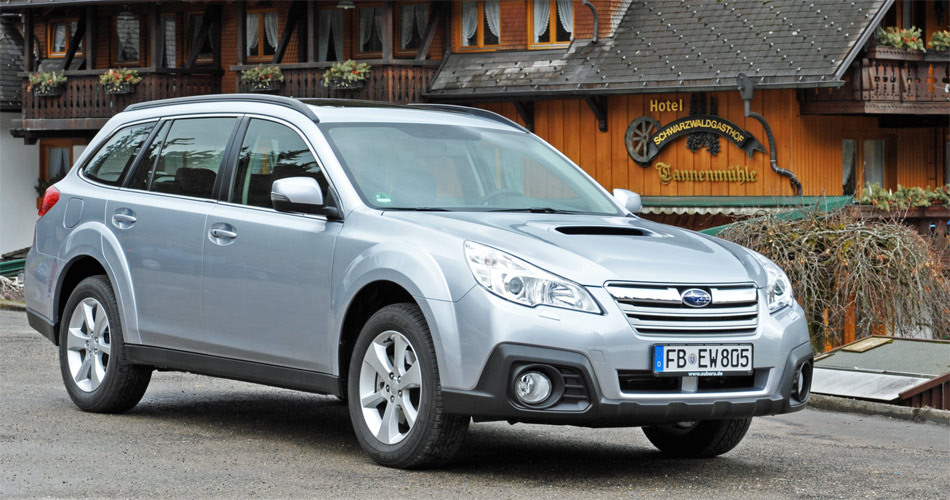 Einer der Lieblinge von Bernhard Russi: Der geräumige und sehr komfortable Subaru Outback AWD.