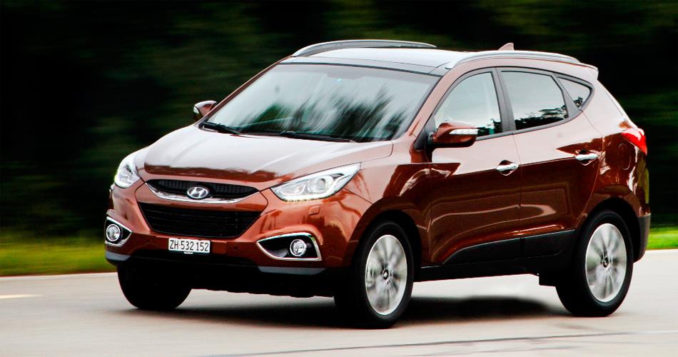 Im neuen Jahrgang des Hyundai iX35 ist ein neuer Benzin-Direkteinspritzer verfügbar (163 PS).