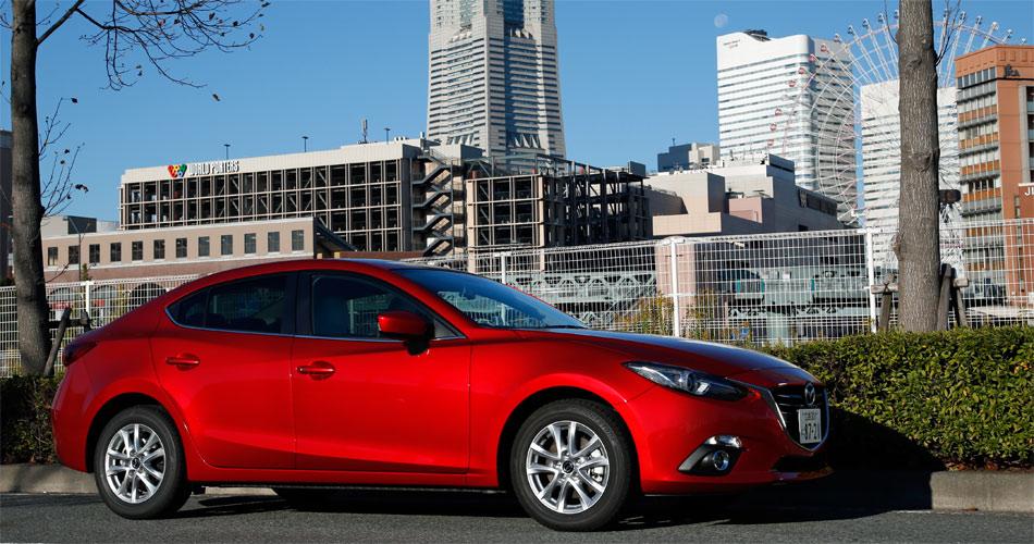 Der nur das Sedan geplante Mazda3 Hybrid ist vorerst nicht für Europa vorgesehen.
