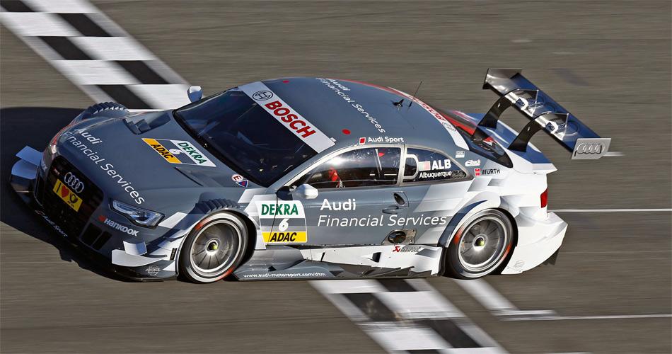 Nico Müller wird 2014 den Portugiesen Felipe Albuquerque in einem Audi A5 DTM ersetzen. Albuquerque fuhr im Team Rosberg.