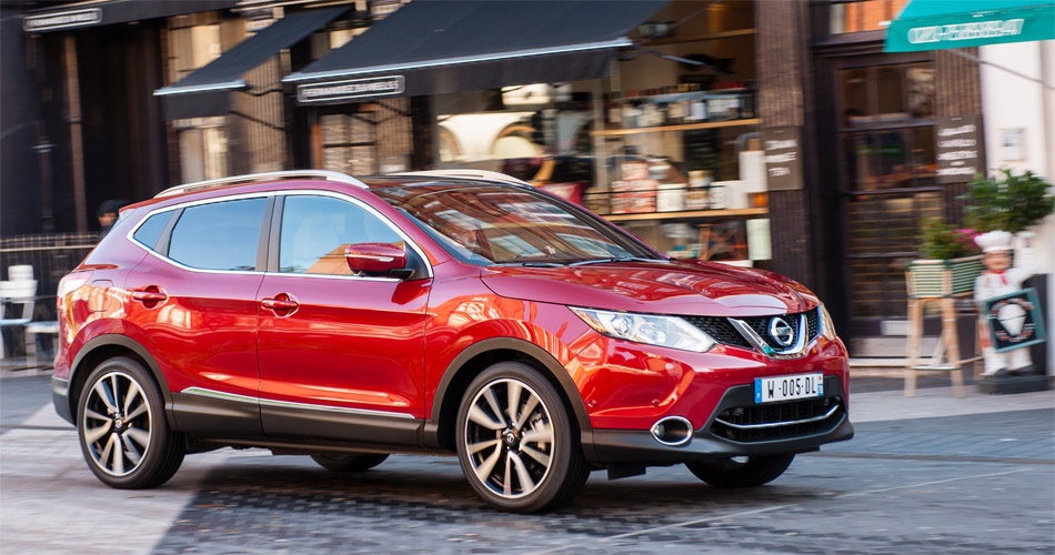 Der in Europa für Europa entwickelte Nissan Qashqai wird in England produziert.