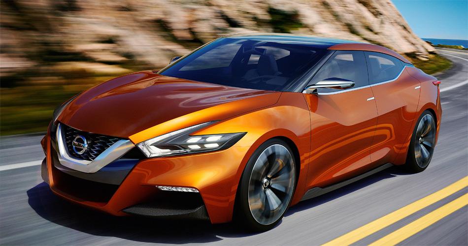 Als Antrieb dient dem Nissan Sport Sedan Concept ein 300 PS starker 3,5-Liter-V6-Motor.