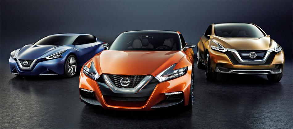 Das in Detoit enthüllte Nissan Sport Sedan Concept ist die dritte von Studien.