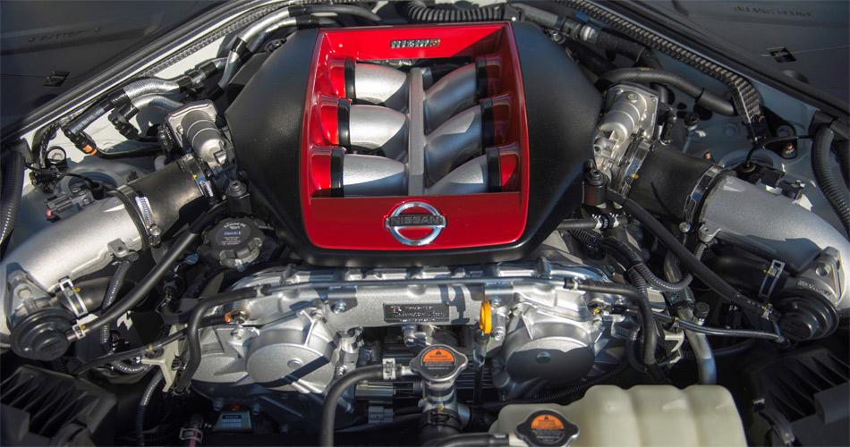 Der V6-Zylinder leistet im GT-R Nismo dank grösserer Turbolader 600 PS.