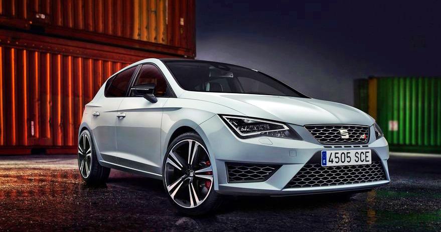 Der neue Seat Leon Cupra verfügt serienmässig über besonders helles, attraktives und sparsames LED-Abblendlicht.