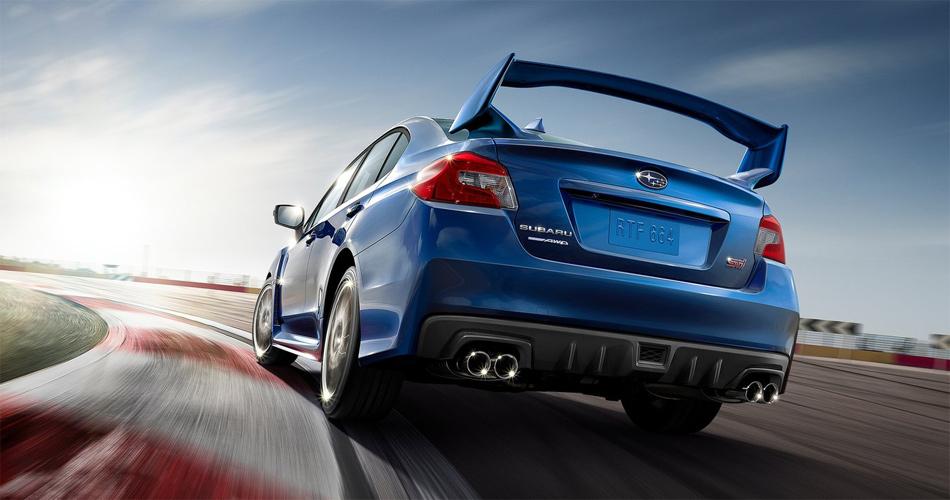 Der opulente Heckflügel des Subaru WRX STi wird bei den Fans als Reminiszenz an glorreiche Rallyeerfolge heiss geliebt.