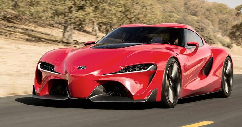 Die emotionale Designsprache des Toyota FT-1 Concepts soll die zukünftige Formensprache von Toyota vorwegnehmen.