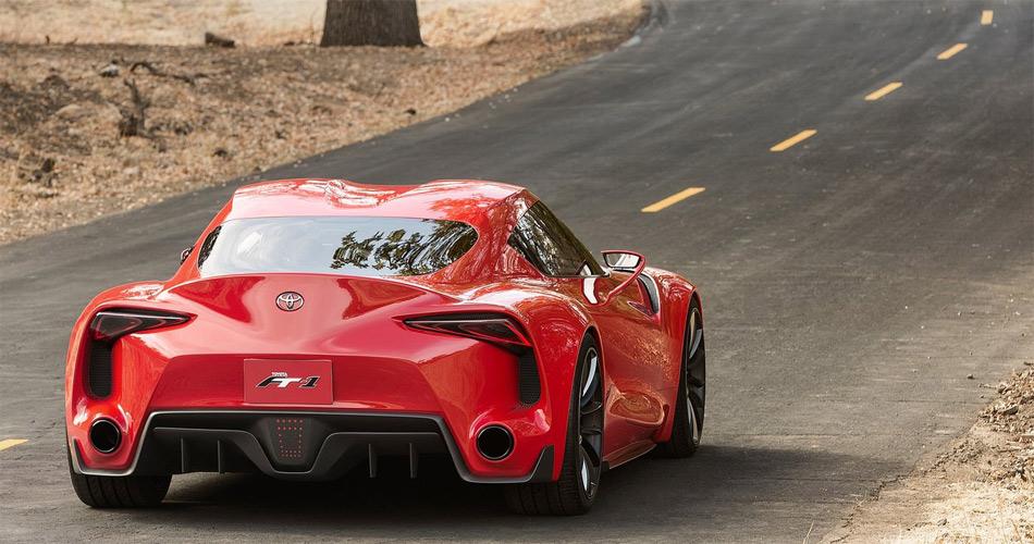 Das Toyota FT-1 Concept verfügt über klassisches Sportwagen-Layout mit Heckantrieb.