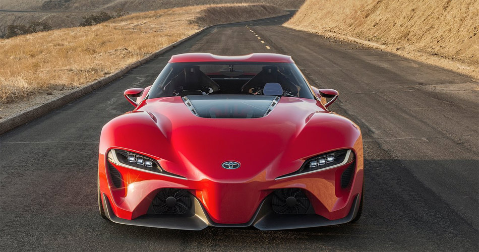 Die Studie Toyota FT-1 stahl bei der Premiere an der Detroit Auto Show allen die Schau.