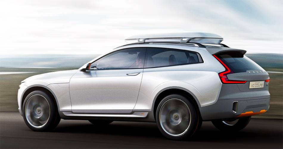 Das Volvo XC Coupé Concept ist ein Crossover für besonders aktive Freizeitsportler.