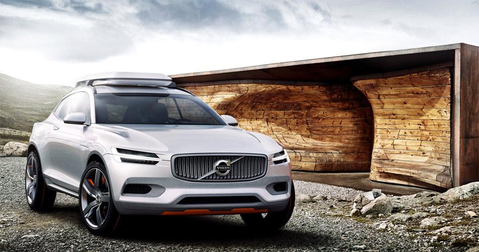 Die zweite von drei XC-Designstudien soll die neue Designsprache des im Herbst 2014 kommenden XC90 und anderer zukünftiger Volvo-Modelle vorwegnehmen.