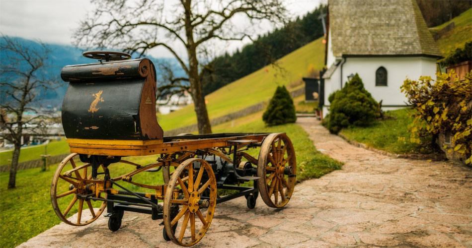 """Weltpremiere zum fünften Geburtstag des Porsche-Museums: Die erste Porsche-Konstruktion der Welt """"P1"""""""