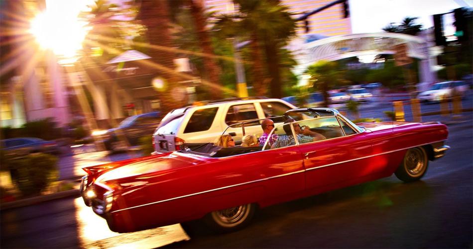 Las Vegas bietet auch Autofans ein ganz besonderes Lebensgefühl.